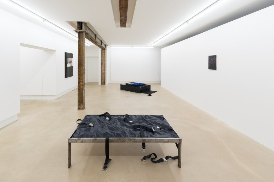 Barely Furtive Pleasures curated by Olivia Aherne, exhibition view, Nir Altman, Munich