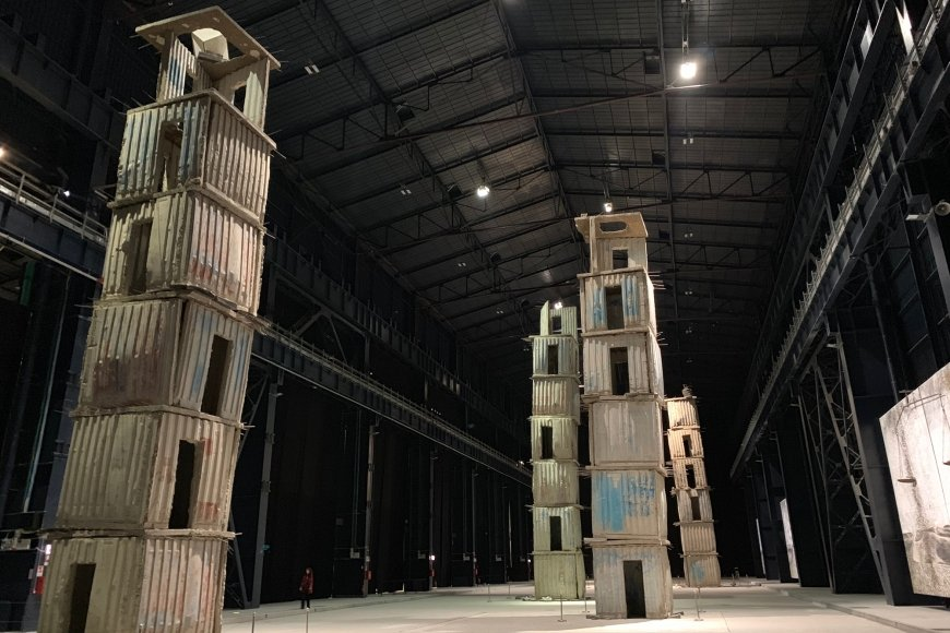 Anselm Kiefer, The Seven Heavenly Palaces, 2004-2015, Permanente Installation, Pirelli HangarBicocca, | Foto: PARNASS