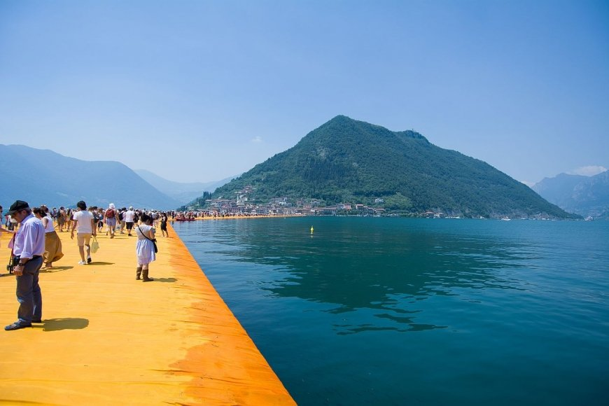 Christo und Jeanne-Claude, Floating Piers, 2016, Foto: Marcio De Assis
