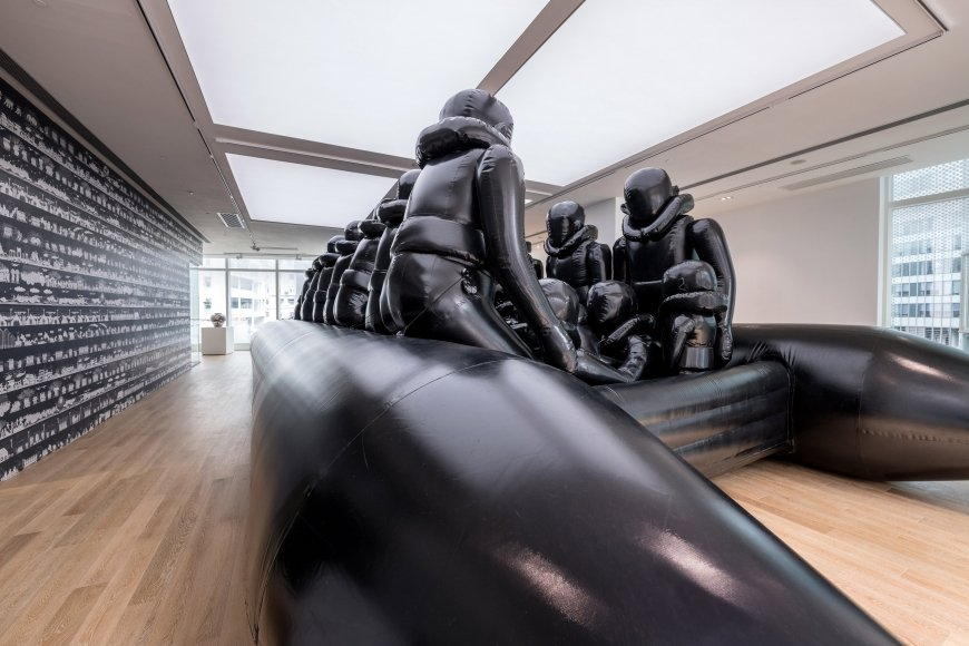 AI WEIWEI, Law of the Journey,