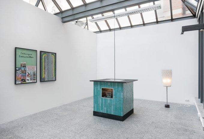 Julian Turner bei Filiale, Frankfurt   PARNASS Kunstmagazin
