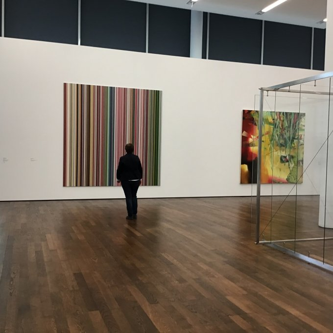Installationsansicht, Ensemble, Gerhard Richter © Museum Frieder Burda