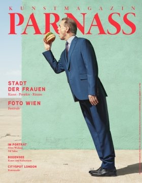 PARNASS 01/2019 | Coverart: Clemens Ascher, A Modernist Lunchbreak, 2018 © by the artist