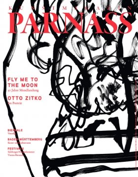 Otto Zitko, PARNASS Cover, 2019 © by the artist