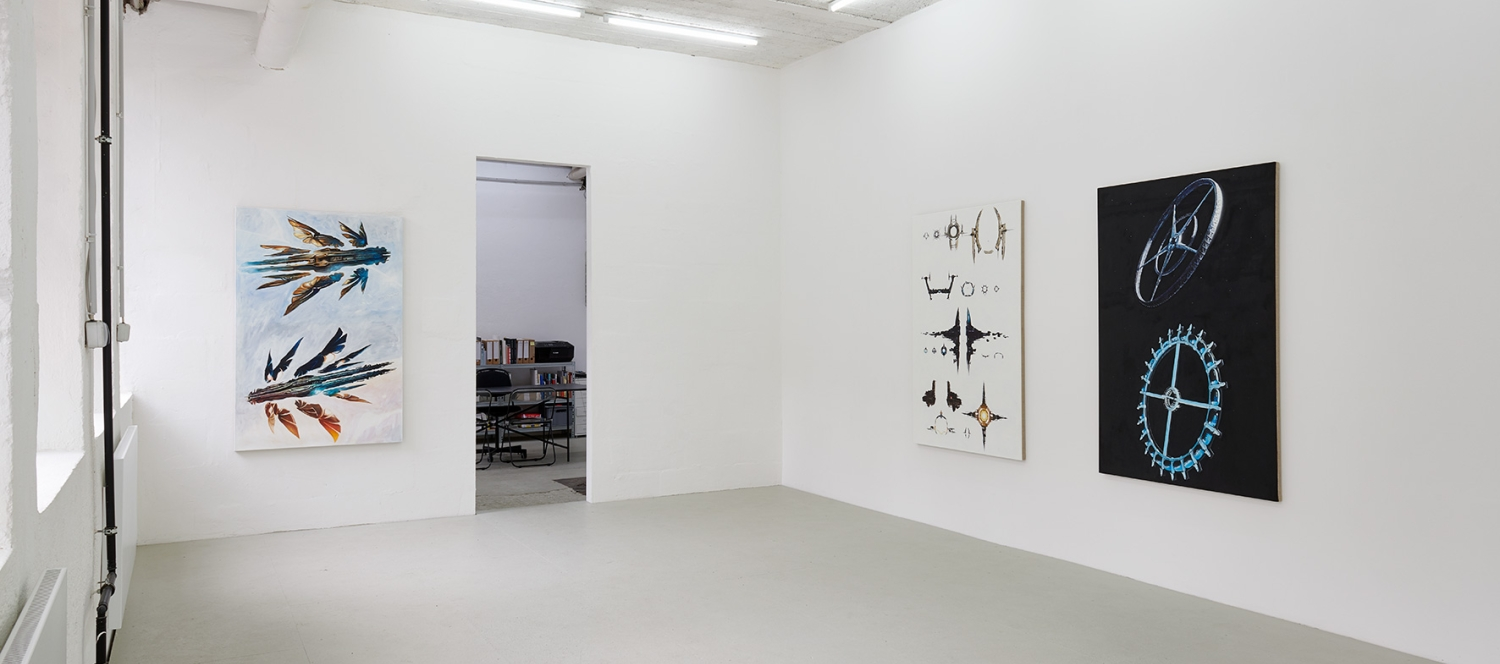 Mathis Gasser, Structures and Institutions 2, 2019, Ausstellungsansicht, Giverva Gambino, Köln