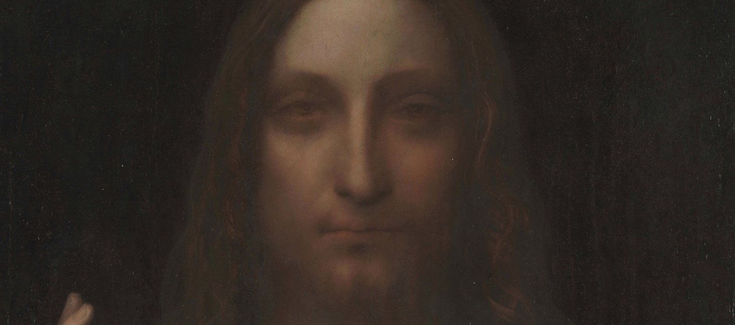 Leonardo da Vinci (zugeschrieben) | Salvator Mundi, um 1500, Öl auf Holz | Department of Culture and Tourism, Abu Dhabi / commons.wikipedia.org